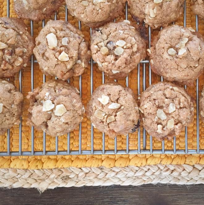 Oat Maple Cookies