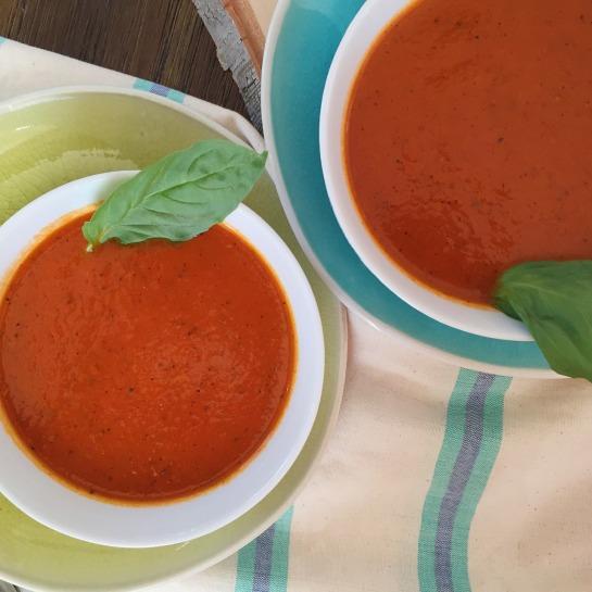 Thai Basil Tomato Soup 2