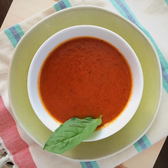 Thai Basil Tomato Soup